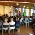 Die Kirche war voll besetzt