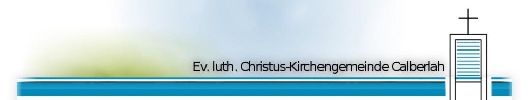 Ev. luth. Christus-Kirchengemeinde Calberlah